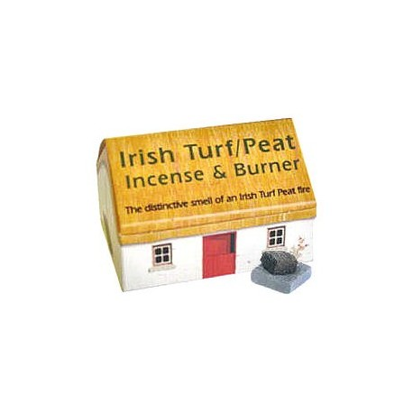 Irish Turf Incense & Burner