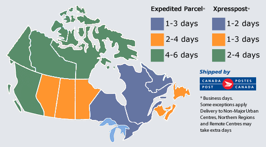 Canada Post Delivery Times